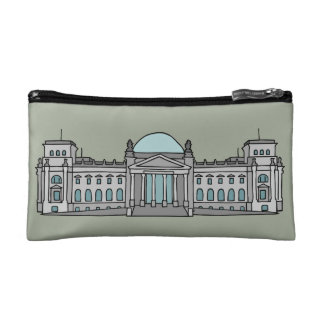 Reichstag building in Berlin Cosmetic Bag