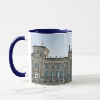 Reichstag Building in Berlin Mug