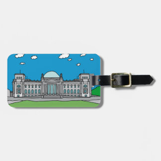 Reichstag building in Berlin Tag For Luggage