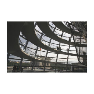 Reichstag building Wrapped Canvas Canvas Print
