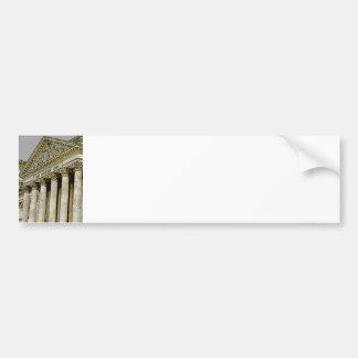 Reichstag / Bundestag, Exterior, Berlin (r3b) Car Bumper Sticker