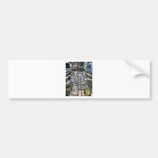 Reichstag / Bundestag, Interior, Berlin,Artistic Car Bumper Sticker