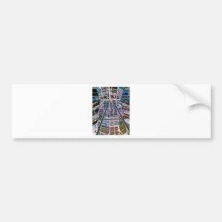 Reichstag / Bundestag, Interior, Berlin (r25inv) Car Bumper Sticker