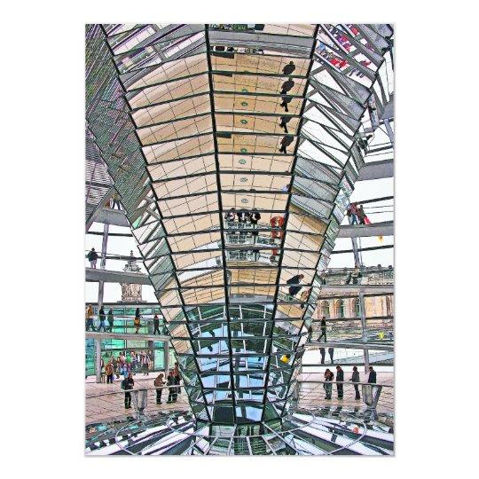 Reichstag / Bundestag, Interior, Berlin(r37pst) Card