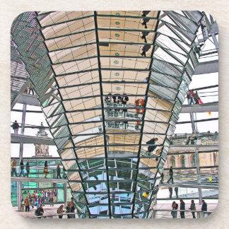 Reichstag / Bundestag, Interior, Berlin(r37pst) Drink Coaster