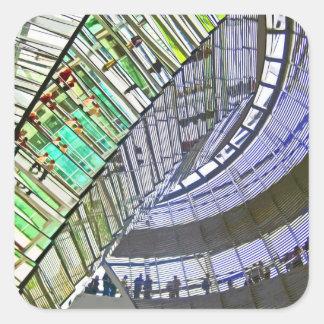 Reichstag / Bundestag,Interior, Berlin(r41cpst) Square Sticker
