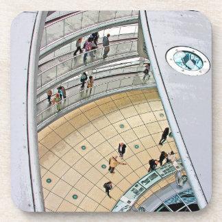 Reichstag / Bundestag,Interior Walkway, Berlin Beverage Coaster