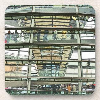 Reichstag / Bundestag,Outside Look In, Berlin(r15p Beverage Coaster