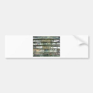 Reichstag / Bundestag,Outside Look In, Berlin(r15p Car Bumper Sticker