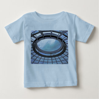 Reichstag / Bundestag,Roof, Berlin, Blue Tint Mute Baby T-Shirt