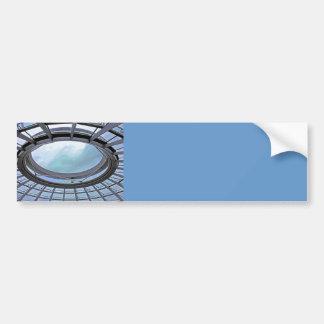 Reichstag / Bundestag,Roof, Berlin, Blue Tint Mute Car Bumper Sticker
