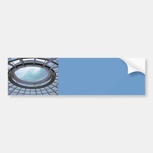 Reichstag / Bundestag,Roof, Berlin, Blue Tint Mute Bumper Sticker