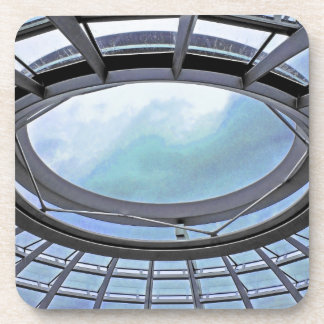 Reichstag / Bundestag,Roof, Berlin, Blue Tint Mute Coaster