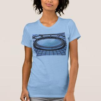 Reichstag / Bundestag,Roof, Berlin, Blue Tint Mute T-Shirt