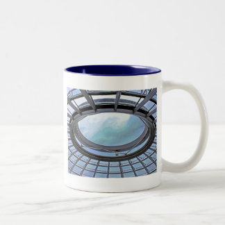 Reichstag / Bundestag,Roof, Berlin, Blue Tint Mute Two-Tone Coffee Mug