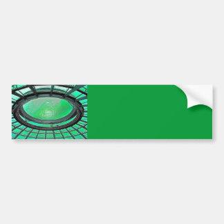 Reichstag / Bundestag,Roof, Berlin, Green Tint (pl Car Bumper Sticker