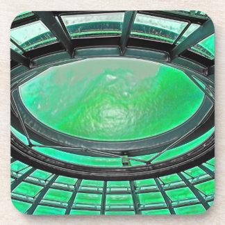 Reichstag / Bundestag,Roof, Berlin, Green Tint (pl Beverage Coaster