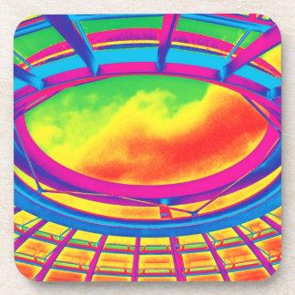 Reichstag / Bundestag,Roof, Berlin, Rainbow Drink Coaster