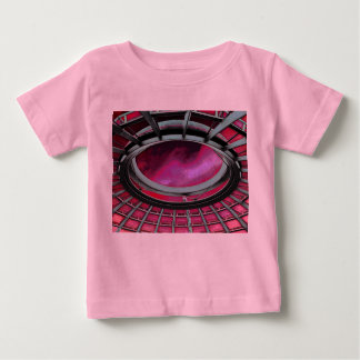 Reichstag / Bundestag,Roof, Berlin, Red Tint Baby T-Shirt