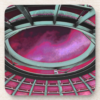 Reichstag / Bundestag,Roof, Berlin, Red Tint Coaster