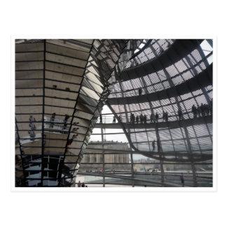 reichstag dome berlin postcard
