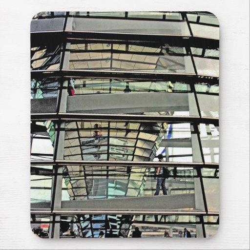 Reichstag/el Parlamento alemán, exterior a adentro Tapetes De Ratones