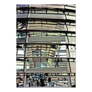 Reichstag/el Parlamento alemán, exterior a Invitación 12,7 X 17,8 Cm