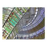Reichstag/el Parlamento alemán, interior, Berlín Tarjeta Postal