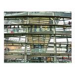Reichstag/el Parlamento alemán, mirada exterior Postal