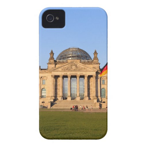 Reichstag en Berlín iPhone 4 Fundas