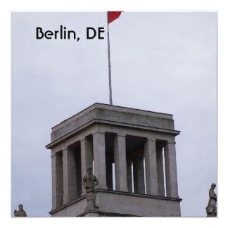 Reichstag en Berlín Invitación 13,3 Cm X 13,3cm