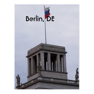 Reichstag en Berlín Tarjeta Postal