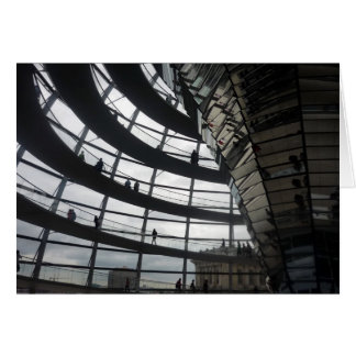 reichstag glass dome card