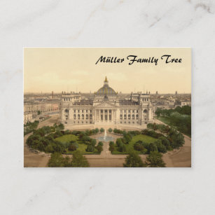 Berlin germany business cards zazzle reichstag house berlin germany business card reheart Gallery