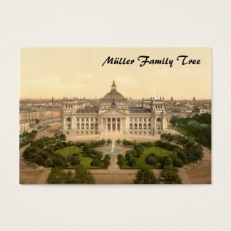 Reichstag House, Berlin, Germany Business Card