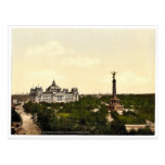 Reichstag House, with Triumphal Column, Berlin, Ge Post Card