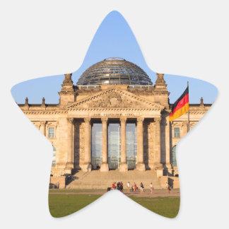 Reichstag in Berlin Star Sticker