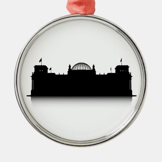 Reichstag Metal Ornament