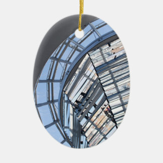 Reichstag Mirrored Dome - Berlin Ceramic Ornament