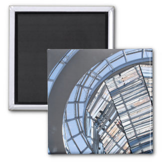 Reichstag Mirrored Dome - Berlin Fridge Magnets