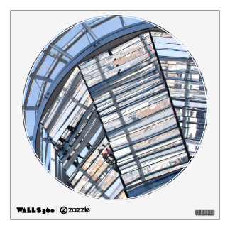 Reichstag Mirrored Dome - Berlin Wall Decal