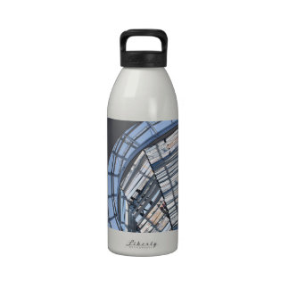 Reichstag reflejó la bóveda - Berlín Botellas De Agua Reutilizables