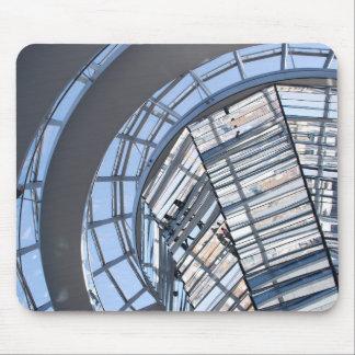 Reichstag reflejó la bóveda - Berlín Tapetes De Raton