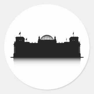 Reichstag Classic Round Sticker