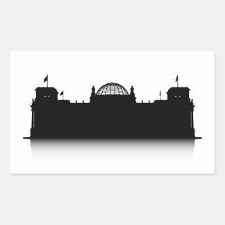 Reichstag Rectangular Sticker