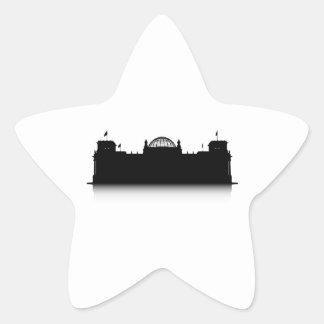 Reichstag Star Sticker