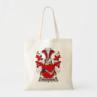 Reichwein Family Crest Tote Bags