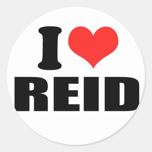 REID 2010 STICKER