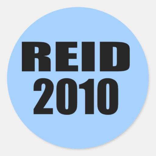REID 2010 ROUND STICKERS