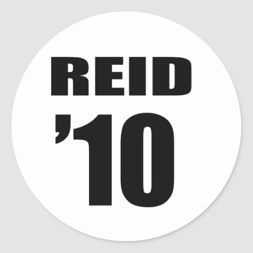 REID 2010 STICKERS